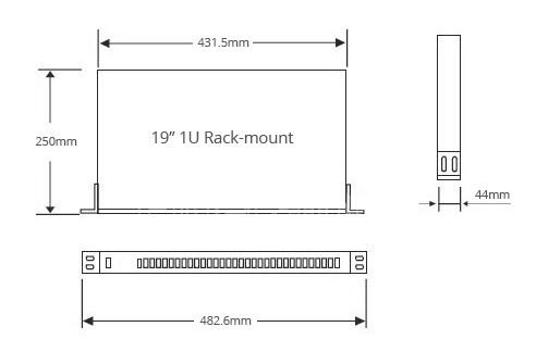 rack drawing